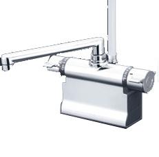 *KVK*KF3011ZT 水栓金具 デッキ形サーモスタット式シャワー 可変ピッチ式 寒冷地仕様