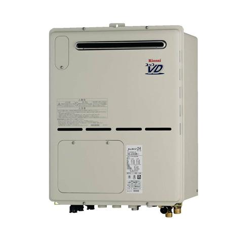 【無料3年保証/工事もご依頼で5年】*リンナイ*RVD-A2400AW2-3[A] 温水暖房熱源機 設置フリー 屋外壁掛型 [フルオート] 24号
