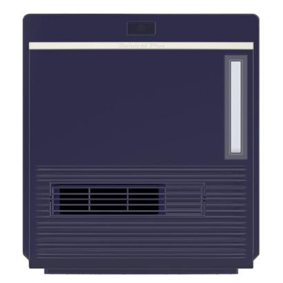 *ダイニチ/Dainichi*EFH-1218D-A 加湿セラミックファンヒーター ブルー1200W(50/60Hz)木造6畳/コンクリート8畳〈送料無料〉