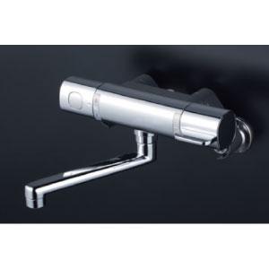 *KVK水栓金具* MTB100KWT サーモスタット式混合栓 浴室用水栓〈送料無料/代引不可〉