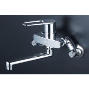 *KVK水栓金具* MSK110KT シングルレバー式混合栓 キッチン用水栓〈送料無料/代引不可〉