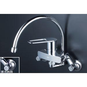 *KVK水栓金具* MSK110KZRGT シングルレバー式混合栓 キッチン用水栓〈送料無料/代引不可〉