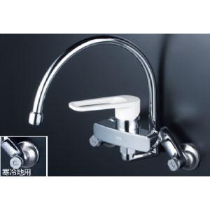 *KVK水栓金具* MSK110KRG シングルレバー式混合栓 キッチン用水栓〈送料無料/代引不可〉