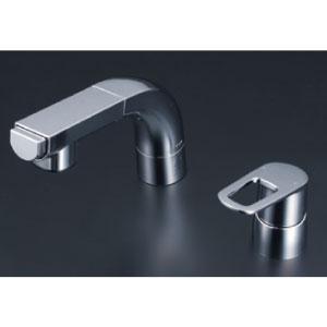 *KVK水栓金具* FSL120DZT シングルレバー式洗髪シャワー 洗面用水栓〈送料無料/代引不可〉