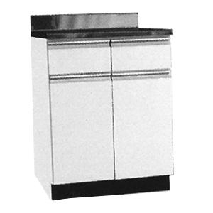 *メイコー*W-60T 調理台 公団タイプ Wタイプ 間口60cm ホワイト