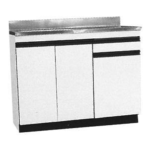 *メイコー*FS-100 流し台 公団タイプ FSタイプ 間口100cm 防臭排水大型ゴミ収納装置付