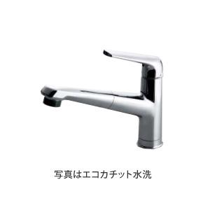 *パナソニック*QS04FPSNE 混合水栓ハンドシャワー 一般地仕様 クロムメッキ エコカチット水栓 【送料・代引無料】