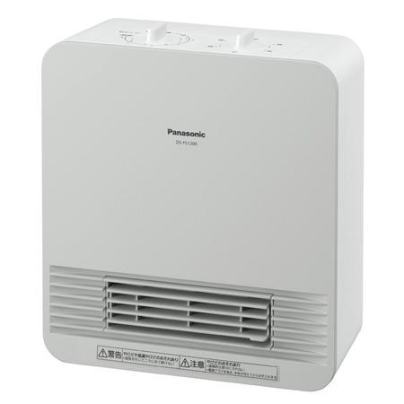 *パナソニック* DS-FS1200 セラミックファンヒーター ホワイト1170w(50/60Hz)〈送料無料〉