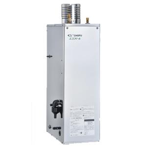 *長府製作所*EHK-4566SAGH Wエコフィール 減圧式高圧力型 石油ふろ給湯器 屋外据置型 [オート] リモコン別売 Rトップ付〈送料・代引無料〉