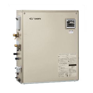 *長府製作所*KIBF-3964DA 水道直圧式 石油ふろ給湯器 屋外据置型 [オート] 33500kcal リモコン別売〈送料・代引無料〉