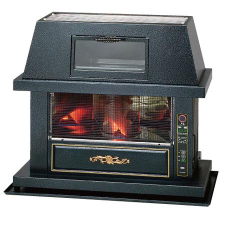 (3年保証付)*トヨトミ*FQ-C70J FF式アンティークストーブ 7.0kW 暖房器具 木造18畳/コンクリート29畳 (送料・代引無料)