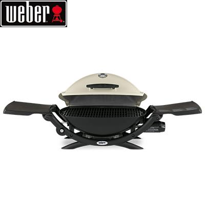 *Weber* Q2200 ガス バーベキューグリル ウェーバー BBQ 焼肉 キャンプ ガスグリル パーティ アウトドア 用品 〈送料・代引無料〉