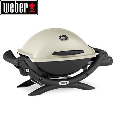 *Weber* Q1200 ガス バーベキューグリル ウェーバー BBQ 焼肉 キャンプ ガスグリル パーティ アウトドア 用品 〈送料・代引無料〉