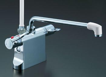 *INAX*浴室用サーモスタット付シャワーバス水栓デッキ・シャワータイプBF-B646TM[300]-A100