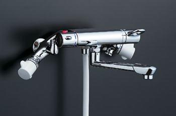 *INAX*浴室用他熱源併用タイプ太陽熱温水器用サーモスタット付シャワーバス水栓 BF-B145TS