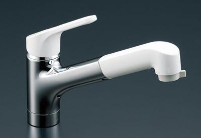 *INAX*台所水栓 キッチン用水栓金具ワンホールタイプ ハンドシャワー付 SF-HE451SX