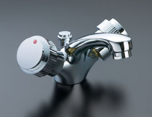*INAX*洗面用水栓2ハンドル混合水栓 ポップアップ式LF-VC-2015C/PC