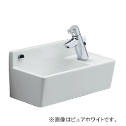 *ジャニス*LS353RPF[BK/PK3/BL3] トイレカウンター コンパクトライン水栓セット 手洗器 壁排水/壁給水【送料無料】