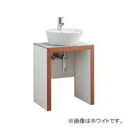 *ジャニス*LU602TSDR[-23]BW1 洗面化粧台 サークルラインテーブル ベースキャビネット 間口600mm【送料無料】