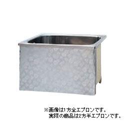 *JFE*KS80 ステンレス浴槽 KSシリーズ 2方半エプロン ストレート埋込タイプ[満水240L]