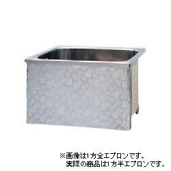*JFE*KS100 ステンレス浴槽 KSシリーズ 1方半エプロン ストレート埋込タイプ[満水320L]