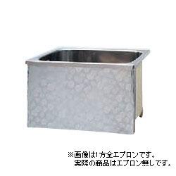 *JFE*KS110X ステンレス浴槽 KSシリーズ エプロンなし ストレート埋込タイプ[満水320L] [受注生産品]