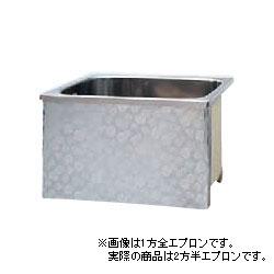 *JFE*KS120X ステンレス浴槽 KSシリーズ 2方半エプロン ストレート埋込タイプ[満水350L]