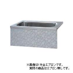 *JFE*KS150 ステンレス浴槽 KSシリーズ エプロンなし 背もたれ埋込タイプ[満水240L] [受注生産品]