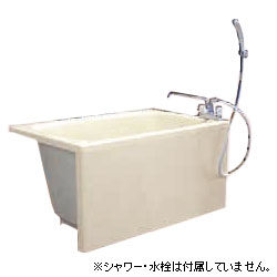 *JFE*KFP105 GH2 FRP浴槽 ホールインワン対応 1方全エプロン簡易着脱タイプ[満水300L] アイボリー
