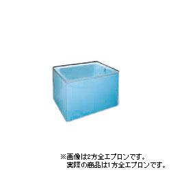 *JFE*KC100 いものホーロー浴槽 KCシリーズ 1方全エプロン 据置タイプ[満水270L] ジェムブルー