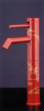 *KAKUDAI*洗面用シングルレバー立水栓[トールタイプ]716-211-13