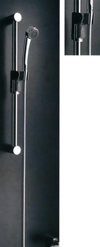 *KAKUDAI*浴室用シャワスライドグリップバー 358-206[左右兼用]