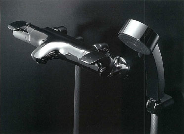 *KAKUDAI*173-214K サーモスタットシャワー混合栓 [寒冷地仕様]