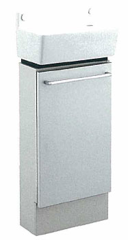 *KAKUDAI*493-031 角型手洗器 [化粧カバー付]