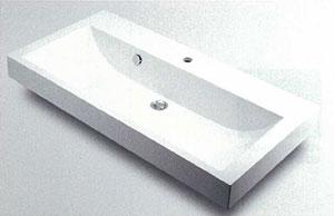 *KAKUDAI*493-070-1000 角型手洗器[1ホールタイプ]