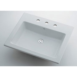 *KAKUDAI*493-009 Luju 角型洗面器