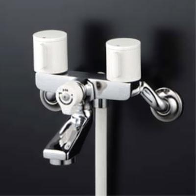 <title>KVK水栓金具 浴室用水栓2ハンドルシャワー 吐水口固定 入荷予定 KF2GN3 代引不可</title>