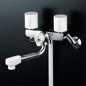 *KVK水栓金具*浴室用水栓2ハンドルシャワーKF2G3【代引不可】