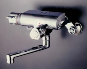 *KVK水栓金具*浴室用水栓定量止水付サーモスタット式混合栓KM159G【代引不可】