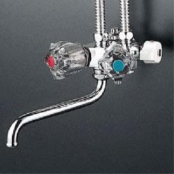 *KVK*KM50NC 水栓金具 ソーラー2ハンドル混合栓 型1構造