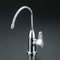 【3年保証無料】*KVK*K335GN 水栓金具 浄水機接続専用水栓 本体のみ【代引不可】
