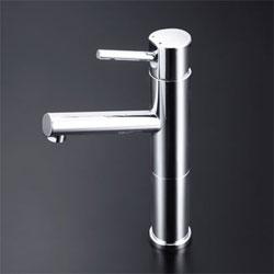 【3年保証無料】*KVK*LFM612-128 水栓金具 洗面用シングルレバー式混合栓 ロングボディ【代引不可】