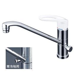 【3年保証付】*KVK*KM5041C/KM5041ZC 水栓金具 流し台用シングルレバー式混合栓