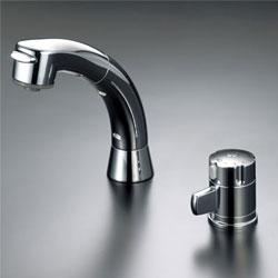 【3年保証付】*KVK*KF125G2N 水栓金具 サーモスタット式洗髪シャワー【代引不可】