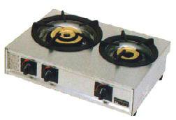 *マルゼン*M-212C[16109030] 業務用ガステーブルコンロ 幅595mm 2口タイプ