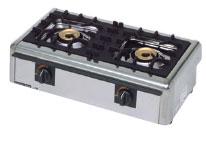 *マルゼン*M-822E[16109036] 業務用ガステーブルコンロ 2口タイプ