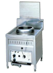 *マルゼン*MRO-B21[10780314] 業務用ガス中華強熱レンジ 背面排気形
