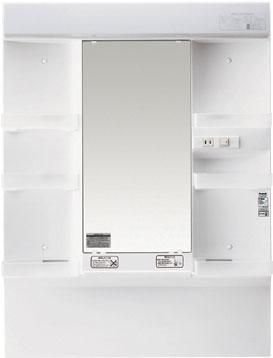 *パナソニック*GQM75K1SM 洗面化粧台 [MLINE] ミラーキャビネット 1面鏡 [間口75cm] くもり止め付