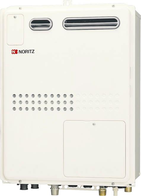 【無料3年保証/工事もご依頼で5年】*ノーリツ*GQH-2445WXA BL ガス温水暖房給湯器 設置フリー屋外壁掛型 オートストップ 24号