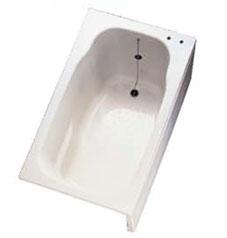 *ノーリツ*SP1172/C1[L/R]-SW 専用FRP製浴槽 水栓穴あり1100mm サンドホワイト